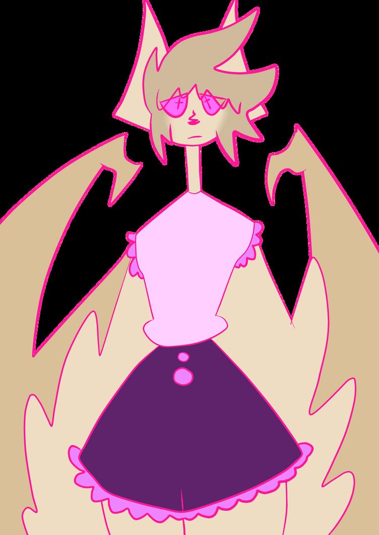 Lucilda the bat by LiterallyTheVoid