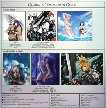 Gumbat's Commission Guide by Gumbat-Art