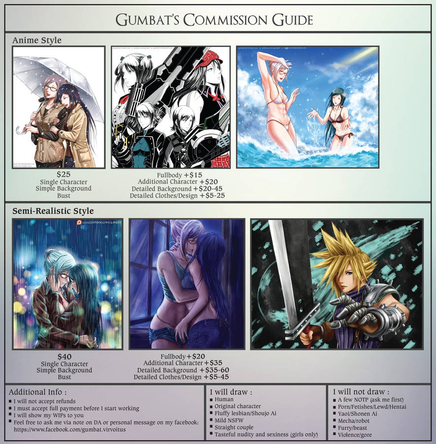 Gumbat's Commission Guide by Gumbat-Art