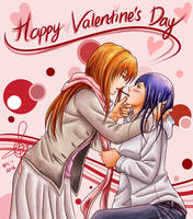 Shizunatsu Valentine's Day by Gumbat-Art