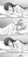 Goodnight Kiss part 1 by Gumbat-Art