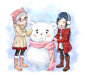 Snowbear by Gumbat-Art