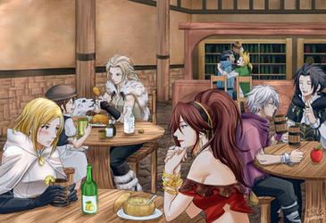 Octopath Tavern by Gumbat-Art