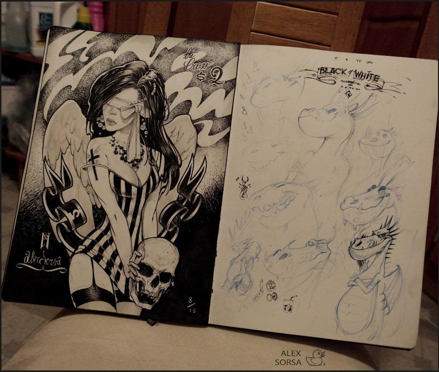my sketchbook by AlexSorsa