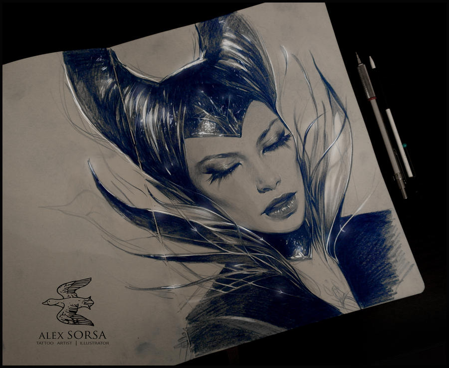 maleficent by AlexSorsa