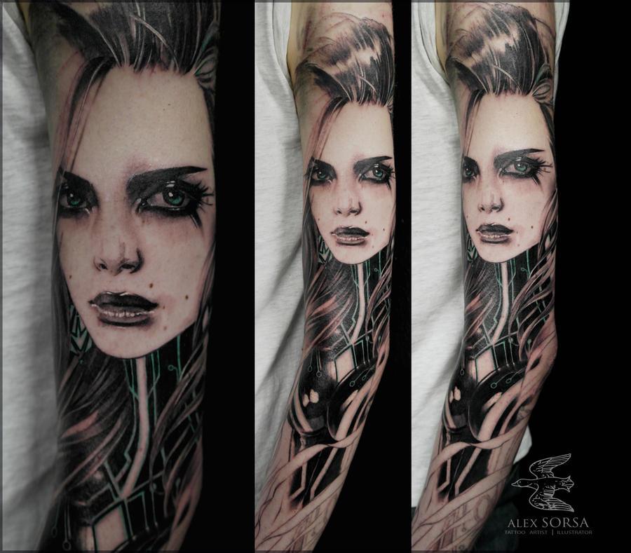 tron girl by AlexSorsa