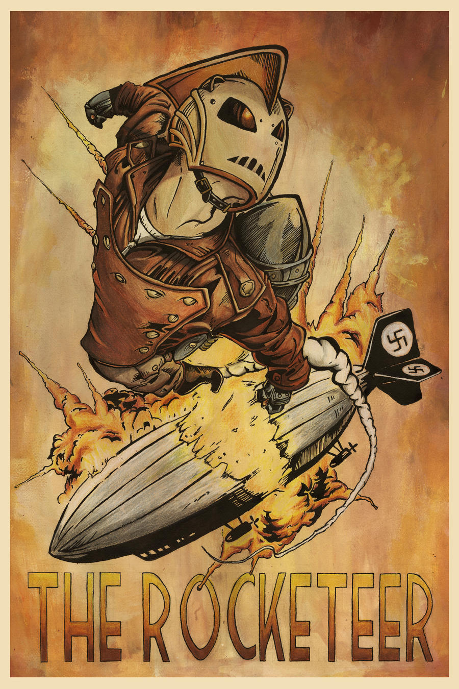 The Rocketeer By Jss743 On Deviantart