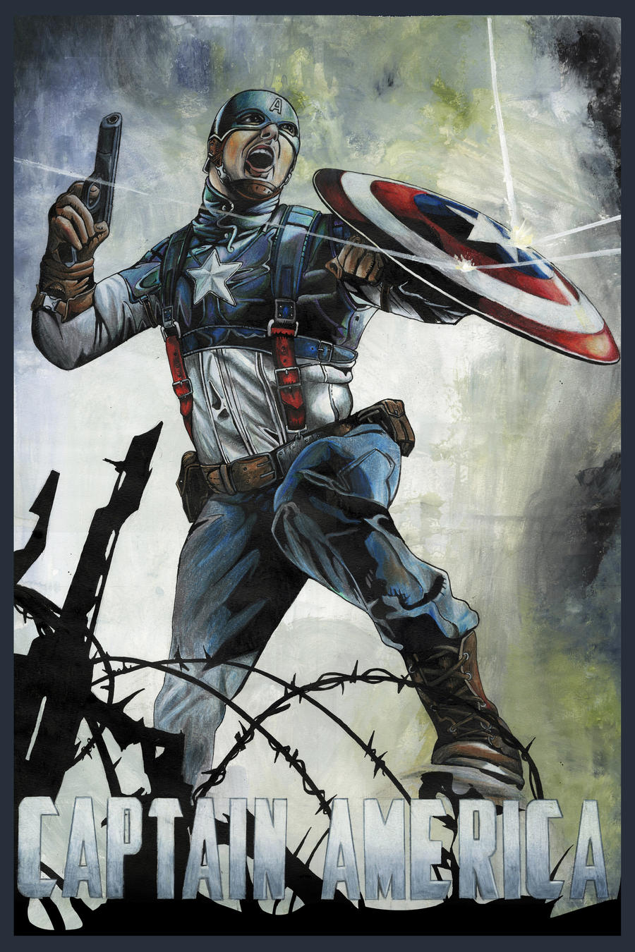 Captain America by jss743