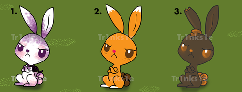 Bunny Adopts - Only one left! by Tr1nks1e
