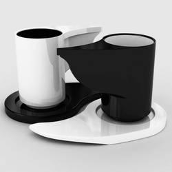 Yin Yang Coffee Cup by wandinha