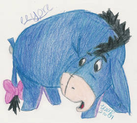 Eeyore by peppermintbanana