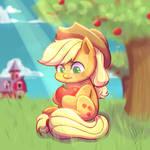 Apple Jack - My little chunky ponys :D