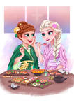 Commission Frozen [Asian themed]