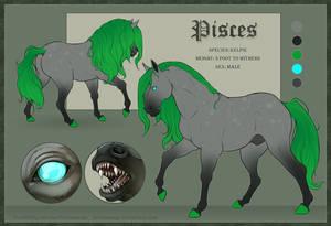 Pisces - Kelpie RefSheet