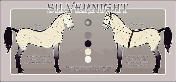 Silvernight - Ref Sheet