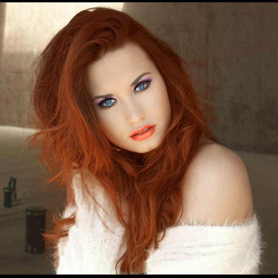 Demi Lovato Red Hair Makeup Version 2 by YonneArtist on ...