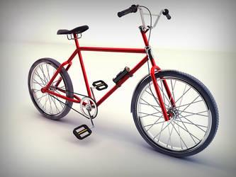 Bike - Studio Render