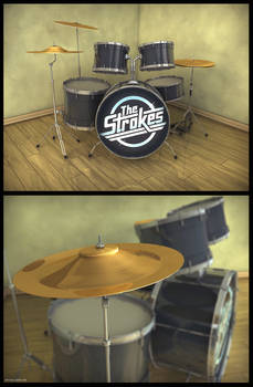 The Strokes Drumset