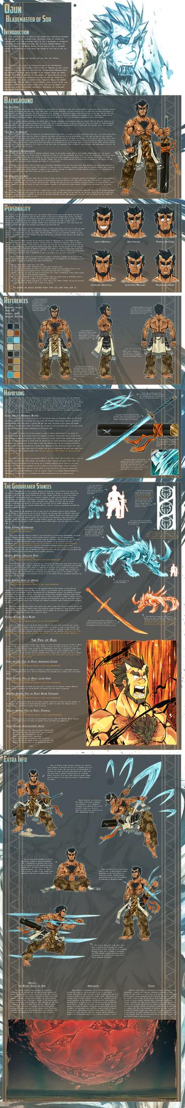 Ref Sheet: Ojun by VIRAMEM