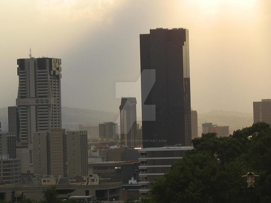Sun shines on Pretoria by CinderSpaced