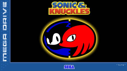 Sonic and knuckles eu box