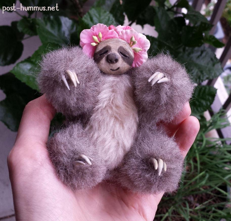 Sleepy Sloth by post-hummus