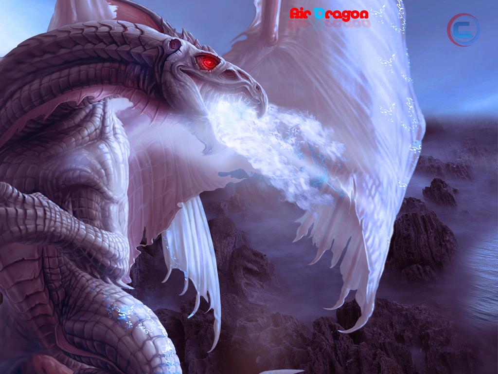 Air dragon wallpaper