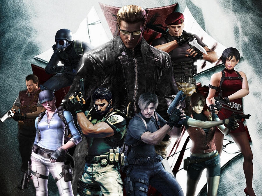 Resident Evil 2 Wallpaper: Resident Evil Wallpaper 2 By Ethaclane On DeviantArt