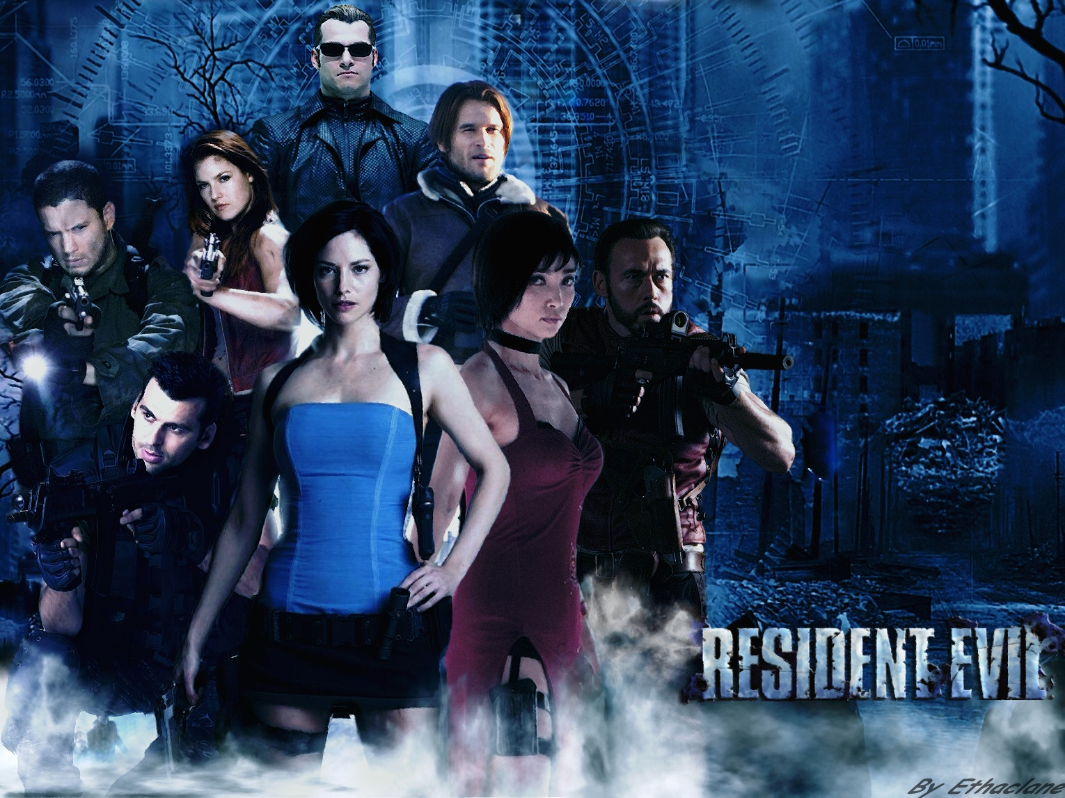 Resident evil movie Wallpaper by ethaclane