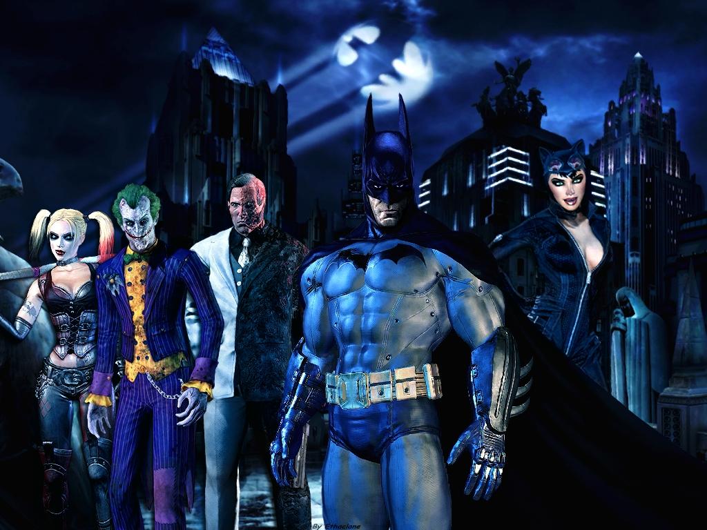 batman : arkham city wallpaperethaclane on deviantart