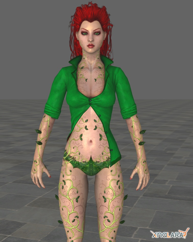 Poison Ivy - normal skin color by ethaclane