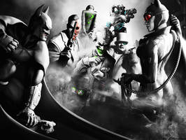 Batman Arkham city wallpaper 2 by ethaclane