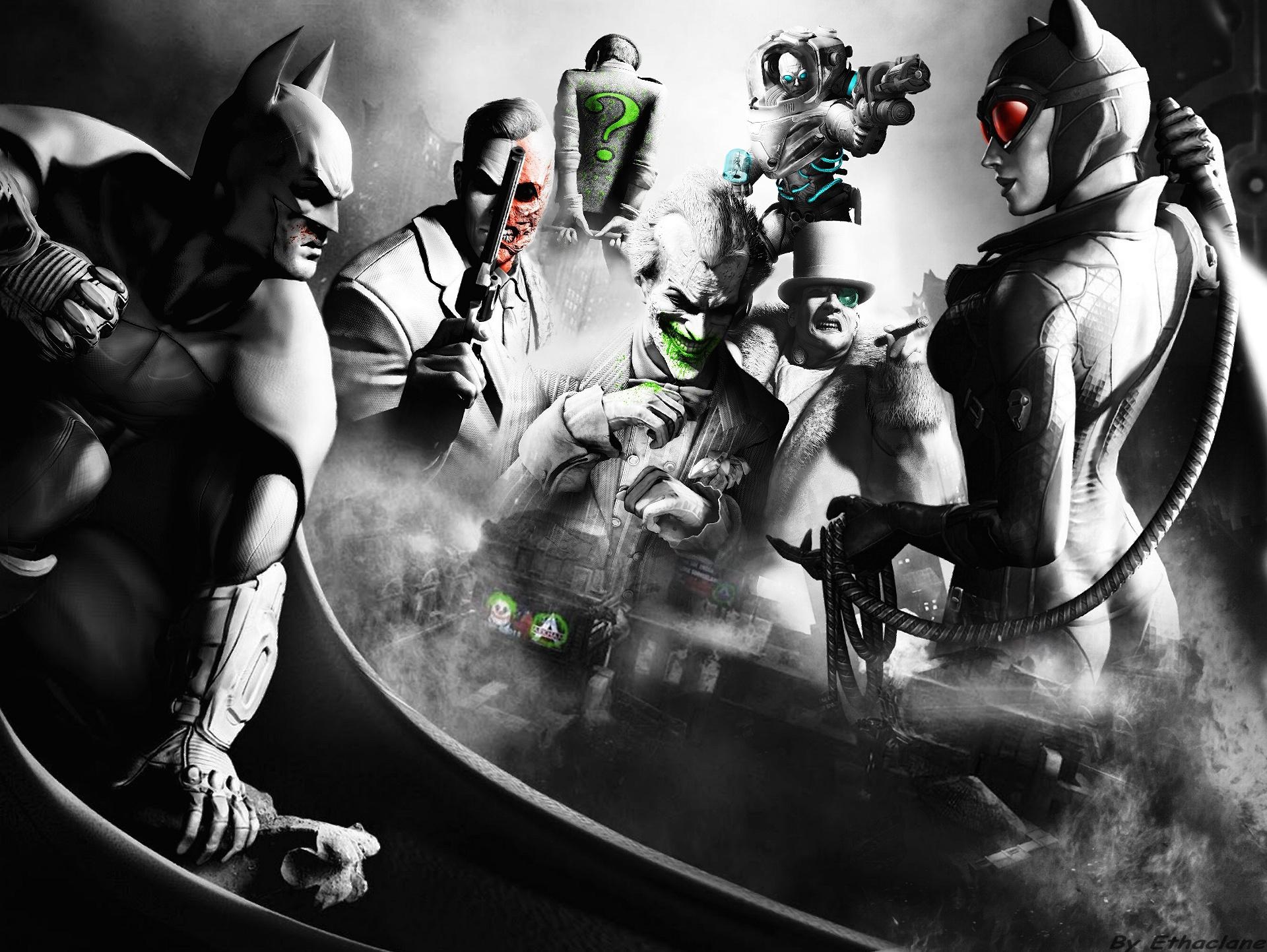 Batman Arkham City Wallpaper 2 By Ethaclane On Deviantart