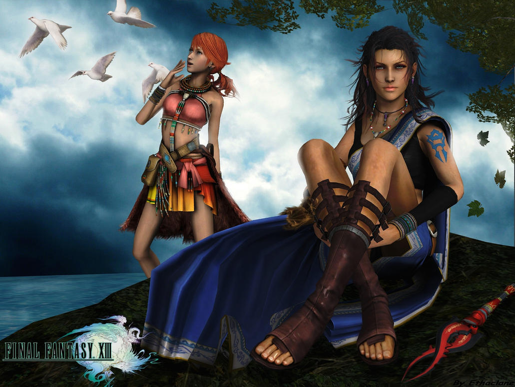 ffxiii fang and vanilles relationship
