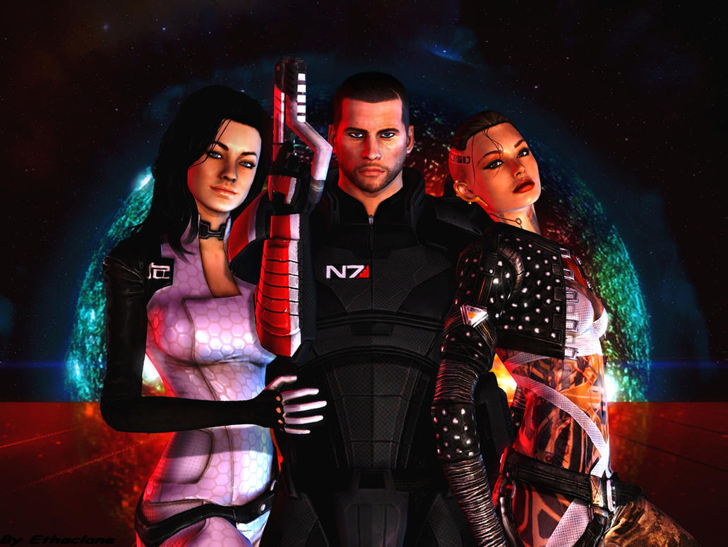 Mass effect wallpaper 4 by ethaclane