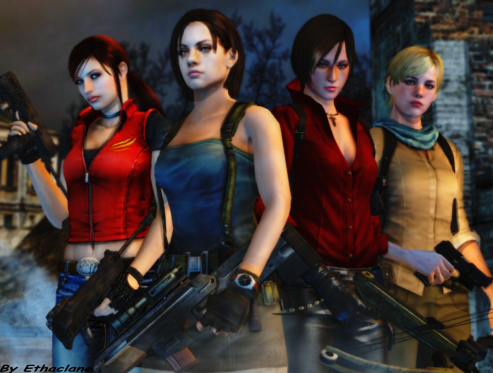 Resident evil wallpaper 31 by ethaclane