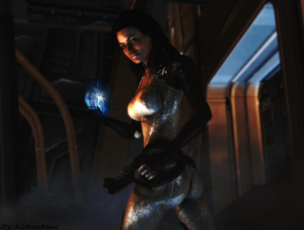Mass effect wallpaper 8 - Miranda Lawson by ethaclane