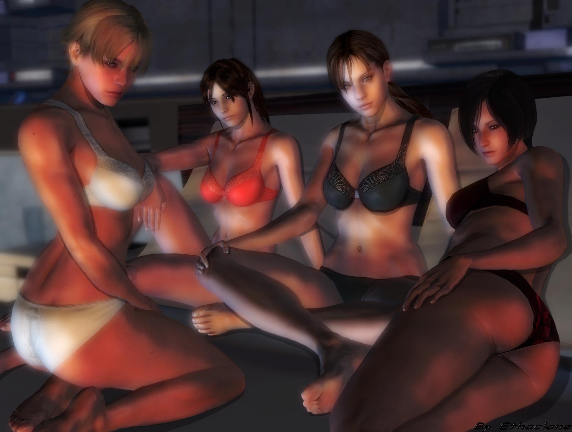 Hot nude sex videos o raccoon city sex video