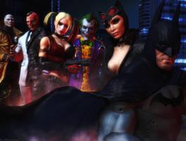 Batman Arkham city wallpaper by ethaclane