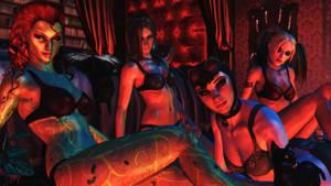 Batman Arkham city wallpaper - Arkham Hotties