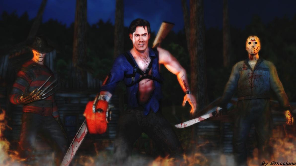 Freddy Vs Jason Ash Wallpaper By Ethaclane