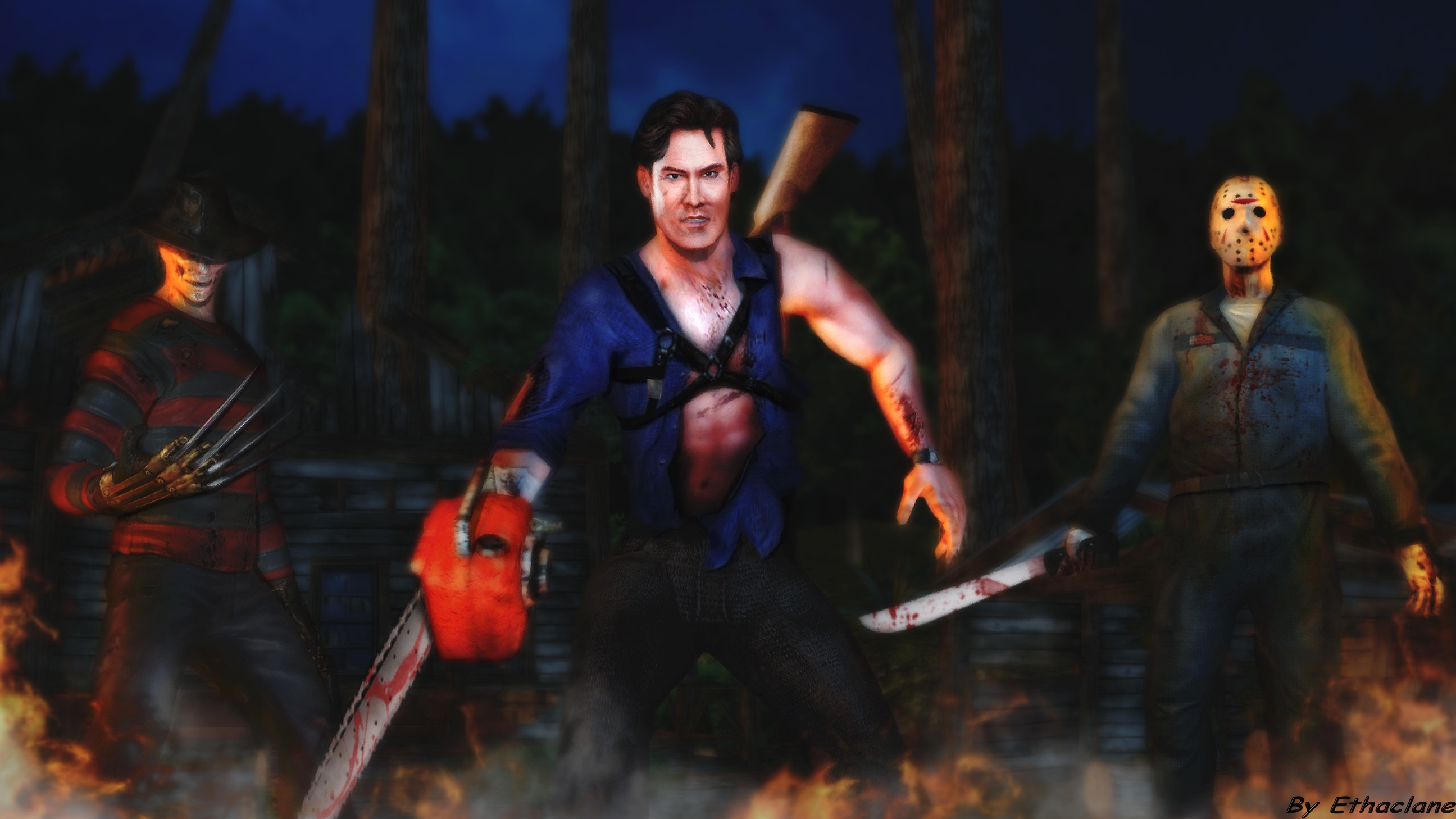 Jason Vs Freddy Vs Ash Movie