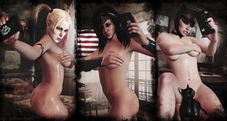 DC girls selfies by ethaclane