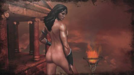 Wonder Woman sexy wallpaper by ethaclane