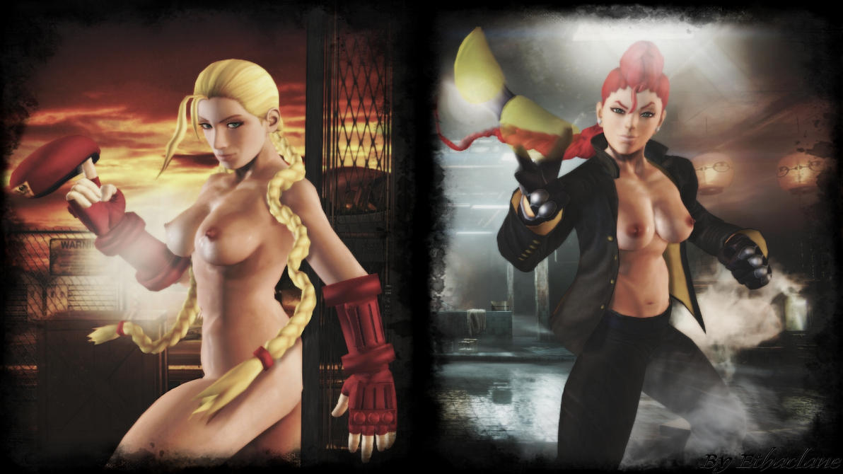 Street Fighter - Sexy Cammy/Crimson Viper by ethaclane