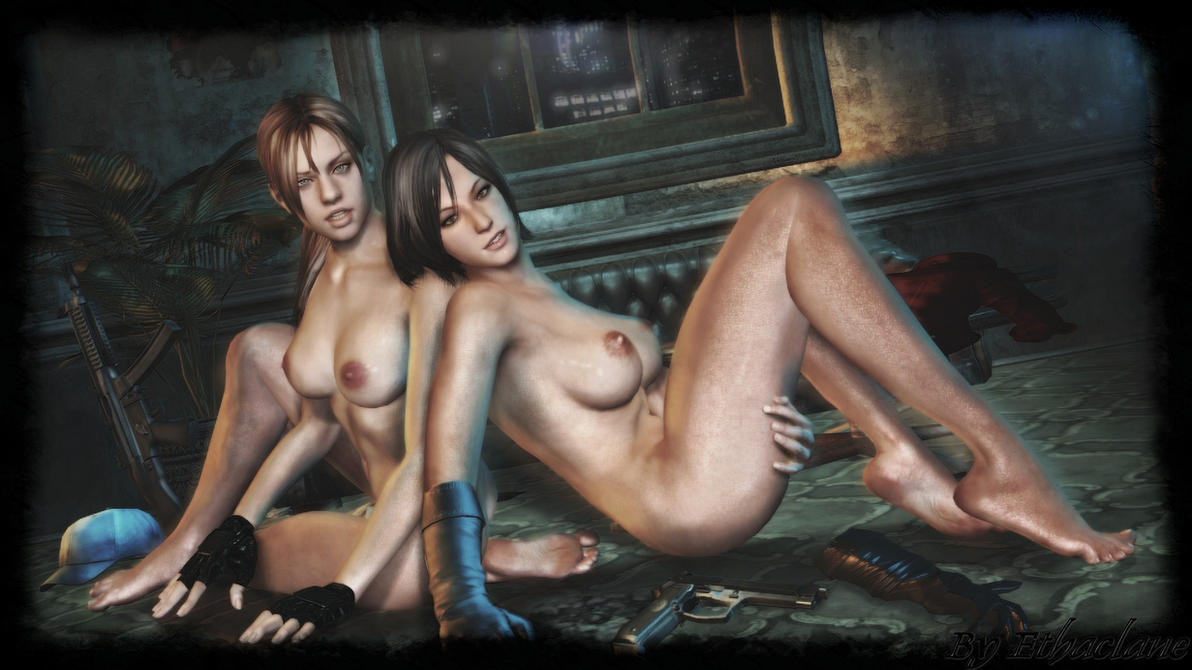 Resident Evil - Sexy Jill and Ada wallpaper by ethaclane