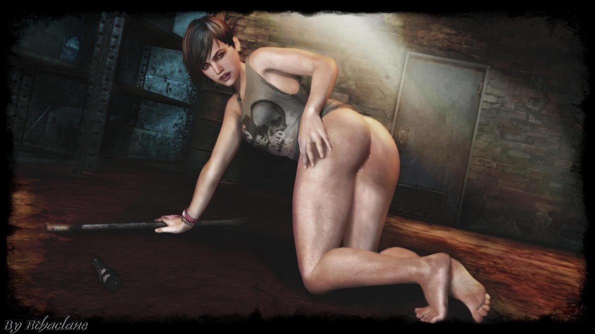 Resident Evil - Moira Burton sexy wallpaper by ethaclane