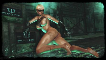 Batman Arkham Origins - sexy Copperhead wallpaper by ethaclane