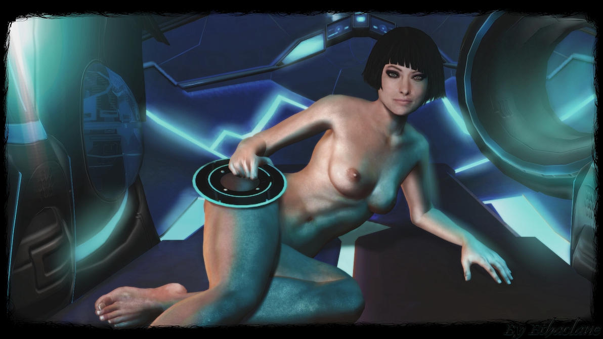 Tron - sexy Quorra Wallpaper by ethaclane