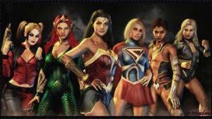 DC Super Hero Girls wallpaper